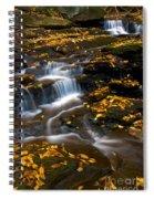 Autumn Falls - 72 Spiral Notebook