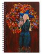 Autumn Fantasy Spiral Notebook