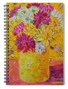 Autumn Flowers 4 Spiral Notebook
