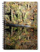 Autumn Gator Spiral Notebook