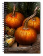Autumn - Gourd - Pumpkins And Some Other Things  Spiral Notebook