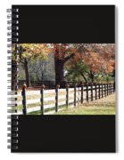 Autumn Greetings Spiral Notebook