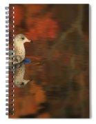 Autumn Gull Spiral Notebook