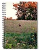 Autumn Hunt Spiral Notebook