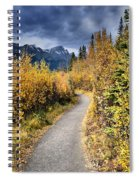 Autumn In Alberta Spiral Notebook