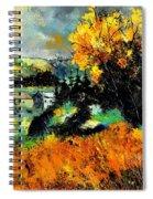 Autumn In Ardennes 672101 Spiral Notebook