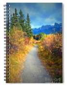 Autumn In Canada Spiral Notebook