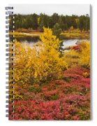 Autumn In Inari Spiral Notebook