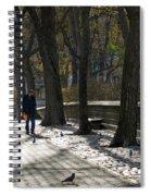 Autumn In New York 2 Spiral Notebook
