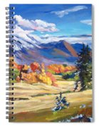 Autumn In The Foothills Spiral Notebook