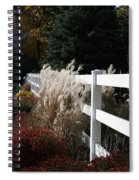Autumn Is In The Air Spiral Notebook