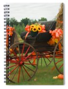 Autumn Joy Spiral Notebook