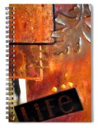 Autumn Life Spiral Notebook