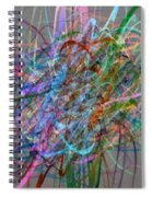 Autumn Likes Lines Spiral Notebook