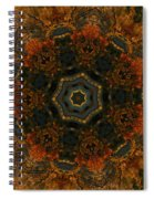 Autumn Mandala 5 Spiral Notebook