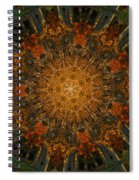 Autumn Mandala 6 Spiral Notebook