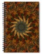 Autumn Mandala 7 Spiral Notebook