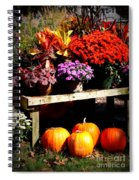 Autumn Market Spiral Notebook