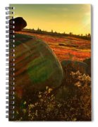 Autumn Morn In The Berry Field Spiral Notebook