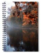 Autumn Morning By Wissahickon Creek Spiral Notebook