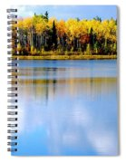 Autumn On Chena Lake L Spiral Notebook