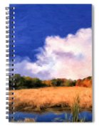 Autumn On Isle Of Palms Spiral Notebook