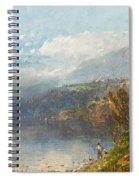Autumn On The Androscoggin Spiral Notebook