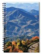 Autumn On The Blue Ridge Parkway Spiral Notebook
