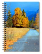 Autumn Perspective Spiral Notebook