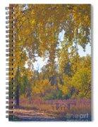 Autumn Picnic Spot Spiral Notebook