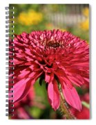 Autumn Pink Spiral Notebook