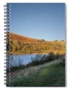 Autumn Pond 4 Spiral Notebook