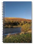 Autumn Pond 9 Spiral Notebook