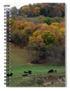 Autumn Range Spiral Notebook
