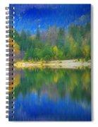 Autumn Reflected 2 Spiral Notebook