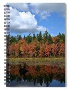 Autumn Reflection Spiral Notebook
