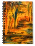 Autumn Reflection In The Water Spiral Notebook