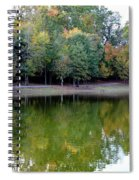 Autumn Reflections Upon Dark Waters Spiral Notebook