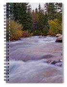 Autumn River Spiral Notebook