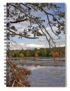 Autumn Shade Spiral Notebook