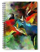 Autumn Streamside 030212 Spiral Notebook