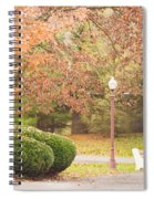 Autumn Stroll Spiral Notebook