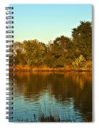 Autumn Sunset Spiral Notebook