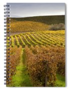 Autumn Vines Spiral Notebook