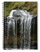 Autumn Water Fall Spiral Notebook
