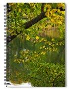Autumn's Touch Spiral Notebook