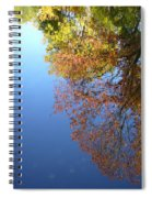 Autumn's Watery Reflection Spiral Notebook