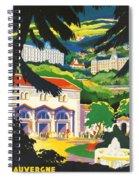 Auvergne France Spiral Notebook