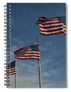 Avenue Of Flags Spiral Notebook