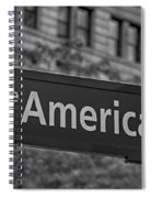 Avenue Of The Americas Spiral Notebook